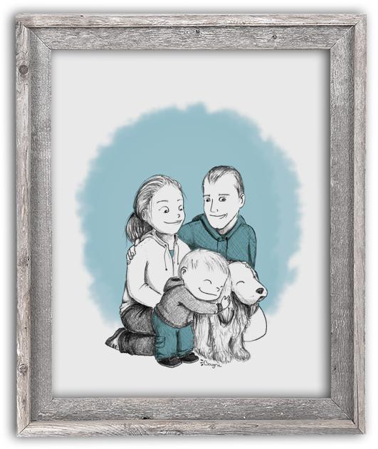 Portrait - Famille D