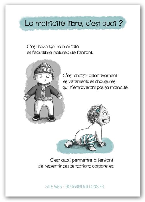 Affiche Petite enfance - Motricité libre 4