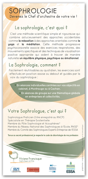Flyer - Sophrologue